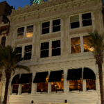 Exterior of Palace Cafe, representing corporate event venues listed by The Event Glossary in New Orleans, LA