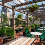 Outdoor space of Ace Hotel's Lobby & Alto Bar representing corporate event venues recommended by The Event Glossary in New Orleans, LA