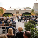 A wedding ceremony at Omni Royal Orleans, representing the wedding venues listed by The Event Glossary in New Orleans, LA