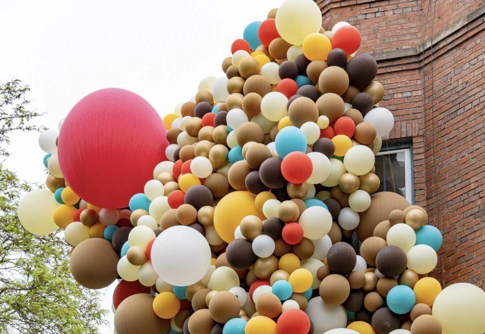 Balloon event decor